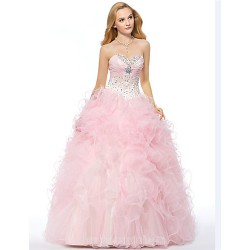 Australia Formal Dress Evening Gowns Candy Pink Plus Sizes Dresses Petite A Line Sweetheart Long Floor Length Organza