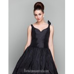Australia Formal Dresses Cocktail Dress Party Dress Holiday Prom Dress Black Plus Sizes Dresses Petite Ball Gown V-neck Ankle-length Taffeta Formal Dress Australia