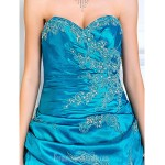 Prom Gowns Australia Formal Dress Evening Gowns Quinceanera Sweet 16 Dress Jade Plus Sizes Dresses Petite A-line Princess Ball Gown Strapless Sweetheart Formal Dress Australia