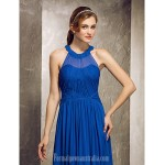 Long Floor-length Chiffon Bridesmaid Dress Royal Blue Apple Hourglass Inverted Triangle Pear Rectangle Plus Sizes Dresses Petite Misses Formal Dress Australia