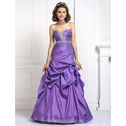 Prom Gowns Australia Formal Dress Evening Gowns Quinceanera Sweet 16 Dress Lilac Plus Sizes Dresses Petite Ball Gown A Line Princess Strapless Long Floor Length