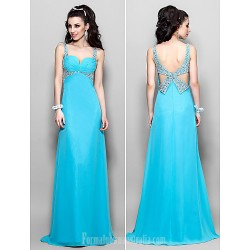 Australia Formal Dress Evening Gowns Prom Gowns Military Ball Dress Pool Plus Sizes Dresses Petite A-line Princess Sweetheart Straps Long Floor-length Chiffon
