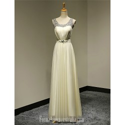 Australia Formal Dress Evening Gowns Daffodil Plus Sizes Dresses Petite A-line Scoop Long Floor-length Chiffon