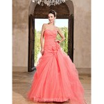 Prom Gowns Australia Formal Dress Evening Gowns Quinceanera Sweet 16 Dress Watermelon Plus Sizes Dresses Petite Princess A-line Ball Gown Sweetheart Strapless Formal Dress Australia