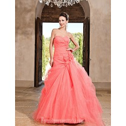 Prom Gowns Australia Formal Dress Evening Gowns Quinceanera Sweet 16 Dress Watermelon Plus Sizes Dresses Petite Princess A Line Ball Gown Sweetheart Strapless