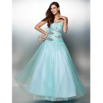 Australia Formal Dress Evening Gowns Multi-color A-line Sweetheart Ankle-length Tulle Formal Dress Australia