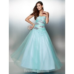 Australia Formal Dress Evening Gowns Multi-color A-line Sweetheart Ankle-length Tulle