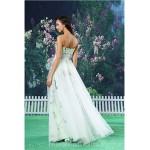 A-line Australia Formal Dress Evening Gowns White Long Floor-length Sweetheart Organza Satin Formal Dress Australia