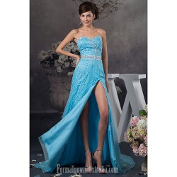Australia Formal Dress Evening Gowns Pool Petite A Line Sweetheart Long Floor Length Satin