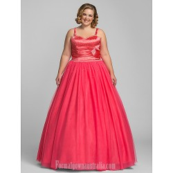 Prom Gowns Australia Formal Evening Dress Quinceanera Sweet 16 Dress Watermelon Plus Sizes Dresses Petite Ball Gown A-line Princess Sweetheart