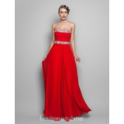 Australia Formal Dress Evening Gowns Prom Gowns Military Ball Dress Ruby Plus Sizes Dresses Petite A Line Princess Strapless Sweetheart Long Floor Length Chiffon