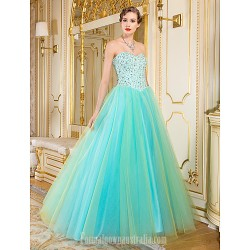 Australia Formal Dress Evening Gowns Multi Color A Line Sweetheart Long Floor Length Organza