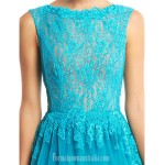 Australia Formal Dress Evening Gowns Jade A-line Bateau Long Floor-length Lace Dress Tulle Formal Dress Australia