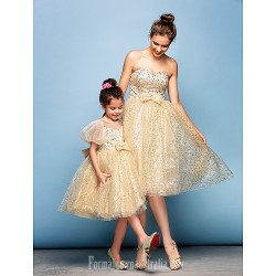 Australia Formal Dresses Cocktail Dress Party Dress Champagne Plus Sizes Dresses Petite Ball Gown Sweetheart Short Knee-length Sequined