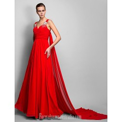 Dress Ruby Plus Sizes Dresses Petite A Line Princess Straps Long Floor Length Chiffon