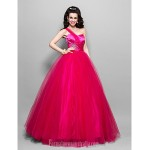 Prom Gowns Australia Formal Dress Evening Gowns Quinceanera Sweet 16 Dress Fuchsia Plus Sizes Dresses Petite Princess Ball Gown A-line Sexy One Shoulder Sweetheart Formal Dress Australia