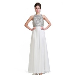 Australia Formal Dress Evening Gowns Ivory Plus Sizes Dresses Petite A Line Jewel Long Floor Length Chiffon Stretch Satin
