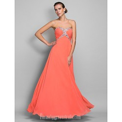 Australia Formal Dress Evening Gowns Prom Gowns Military Ball Dress Watermelon Plus Sizes Dresses Petite A Line Sweetheart Long Floor Length Chiffon