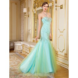 Australia Formal Dress Evening Gowns Multi-color Fit Flare Sweetheart Long Floor-length Organza