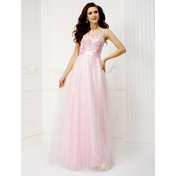 Australia Formal Evening Dress Candy Pink Plus Sizes Dresses Petite A-line Jewel Long Floor-length Tulle Dress
