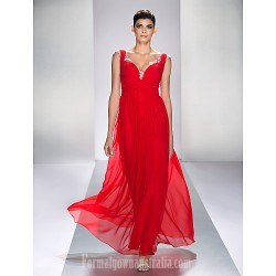 Australia Formal Evening Dress Prom Gowns Military Ball Dress Ruby Plus Sizes Dresses Petite A-line Queen Anne Ankle-length Chiffon Satin Chiffon