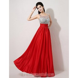 Australia Formal Dress Evening Gowns Ruby Plus Sizes Dresses Petite A Line Scoop Long Floor Length