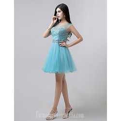 Australia Formal Dresses Cocktail Dress Party Dress Pool Plus Sizes Dresses Petite A Line Scoop Short Knee Length