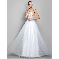 Australia Formal Dress Evening Gowns Prom Gowns Military Ball Dress Ivory Plus Sizes Dresses Petite A-line Princess Sexy One Shoulder Long Floor-length Tulle Dress