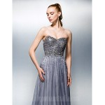 Dress Silver Plus Sizes Dresses Petite A-line Sweetheart Long Floor-length Tencel Formal Dress Australia