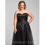 Australia Formal Dress Evening Gowns Prom Gowns Military Ball Dress Black Plus Sizes Dresses Petite A-line Princess Sweetheart Long Floor-length Organza Formal Dress Australia