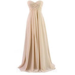 Long Floor-length Chiffon Bridesmaid Dress Orange Royal Blue White Black Lavender Champagne Daffodil Blushing Pink Sage