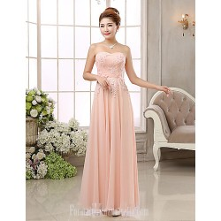 Australia Formal Dress Evening Gowns Blushing Pink Ball Gown Strapless Long Floor Length Chiffon
