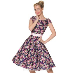 Australia Formal Dresses Cocktail Dress Party Dress Print Plus Sizes Dresses A-line Scoop Short Knee-length Cotton