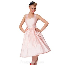 Australia Formal Dresses Cocktail Dress Party Dress Blushing Pink Plus Sizes Dresses A-line Sweetheart Short Knee-length Taffeta