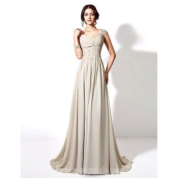 Australia Formal Dress Evening Gowns Silver Plus Sizes Dresses Petite A Line Long Floor Length Court Train