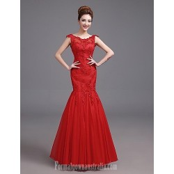 Australia Formal Dress Evening Gowns Ruby Plus Sizes Dresses Fit Flare Straps Long Floor-length Satin