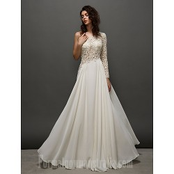 Prom Gowns Australia Formal Dress Evening Gowns Ivory A-line Sexy One Shoulder Long Floor-length Lace Dress