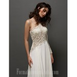 Prom Gowns Australia Formal Evening Dress Ivory A-line Sexy One Shoulder Long Floor-length Lace Dress Formal Dress Australia