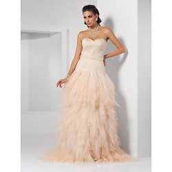 Prom Gowns Australia Formal Dress Evening Gowns Quinceanera Sweet 16 Dress Champagne Plus Sizes Dresses Petite Ball Gown Princess A Line Sweetheart Strapless