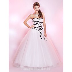 Prom Gowns Australia Formal Dress Evening Gowns Quinceanera Sweet 16 Dress Ivory Plus Sizes Dresses Petite Princess Ball Gown Strapless Sweetheart Long Floor Length