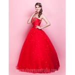 Prom Gowns Australia Formal Dress Evening Gowns Quinceanera Sweet 16 Dress Ruby Plus Sizes Dresses Petite Princess Ball Gown Strapless Sweetheart Long Floor-length Formal Dress Australia
