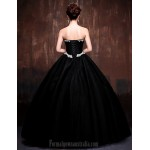 Australia Formal Evening Dress Black Daffodil Petite Ball Gown Sweetheart Long Floor-length Lace Dress Satin Tulle Polyester Formal Dress Australia