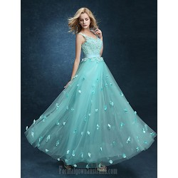 Australia Formal Dress Evening Gowns Pool Plus Sizes Dresses A Line V Neck Ankle Length Lace