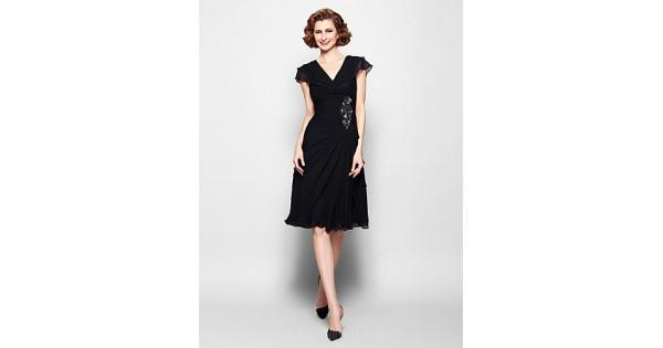A-line Plus Sizes Dresses Petite Mother Of The Bride Dress