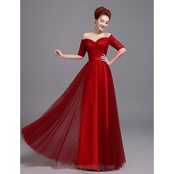 Australia Formal Dress Evening Gowns Burgundy Plus Sizes Dresses A-line Sweetheart Long Floor-length Satin