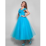 Australia Formal Dresses Cocktail Dress Party Dress Holiday Dress Pool Plus Sizes Dresses Petite Ball Gown Straps Tea-length Tulle Formal Dress Australia