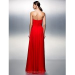Prom Gowns Australia Formal Dress Evening Gowns Ruby Plus Sizes Dresses Petite A-line Strapless Long Floor-length Chiffon Formal Dress Australia