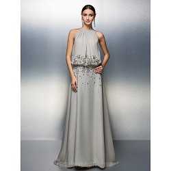 Prom Gowns Australia Formal Dress Evening Gowns Silver Plus Sizes Dresses Petite A Line Jewel Long Floor Length Chiffon