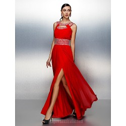 Prom Gowns Australia Formal Evening Dress Ruby Plus Sizes Dresses Petite A-line Jewel Long Floor-length Chiffon