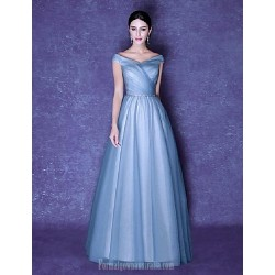 Australia Formal Dress Evening Gowns Pool Ball Gown V Neck Long Floor Length Tulle Dress